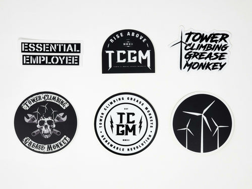Black and White Sticker Pack