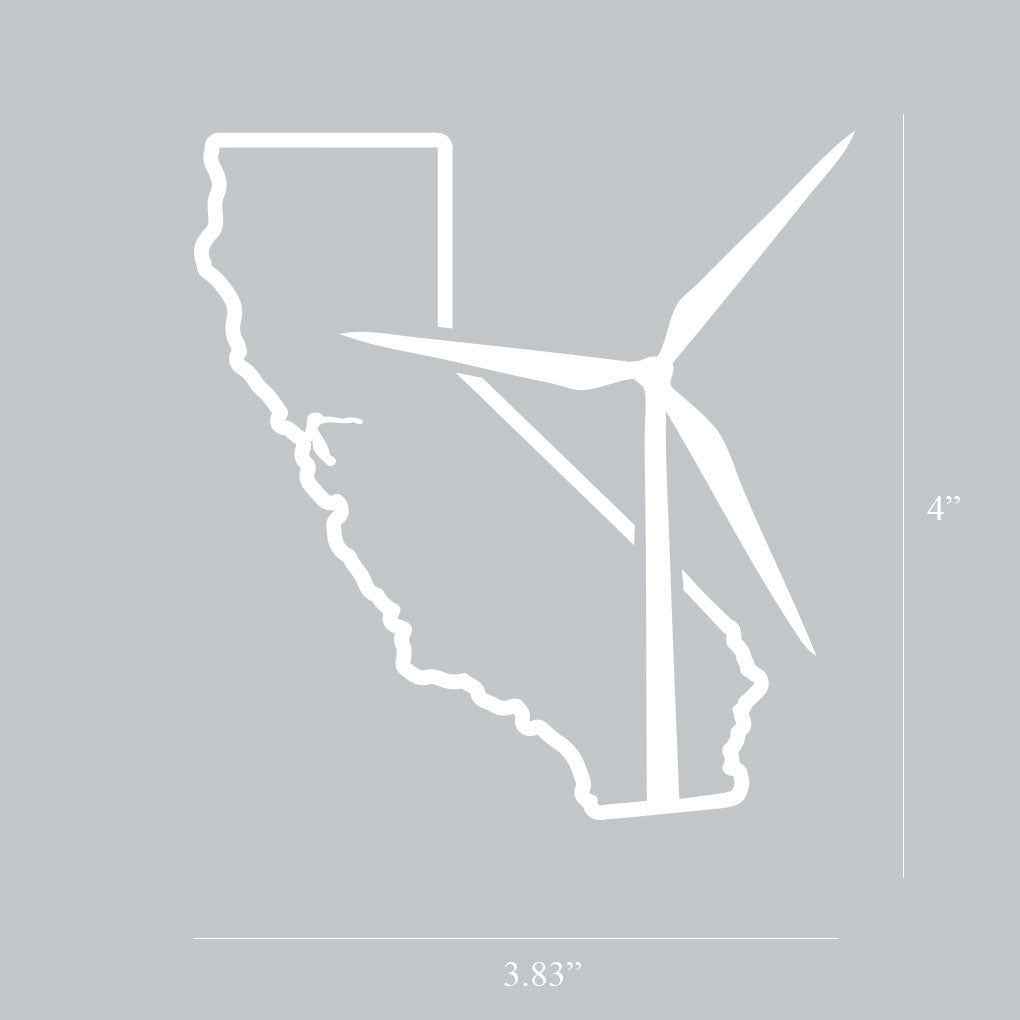 California Wind Decal