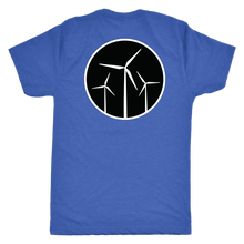 Wind Turbine Patch T Shirt