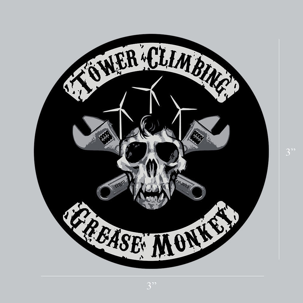 Skull Monkey Decal