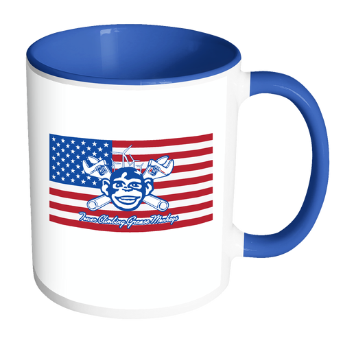 American Grease Monkey Coffee Mug