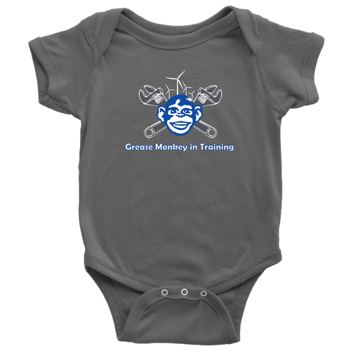 Grease Monkey in Training Onesie