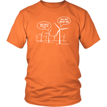 Wind Turbines are Metal Fans T Shirt 4.3 oz