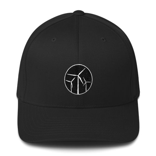 Wind Turbine Flex Fit Hat