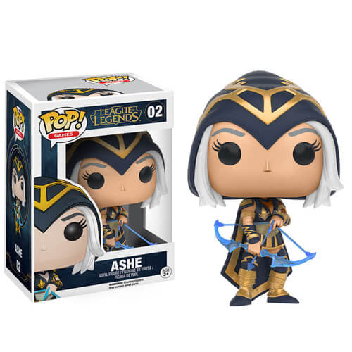 LEAGUE OF LEGENDS ASHE FUNKO POP VINYL FIGURE #02