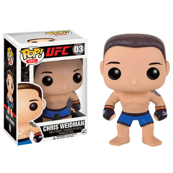 UFC CHRIS WEIDMAN FUNKO POP! VINYL FIGURE #03