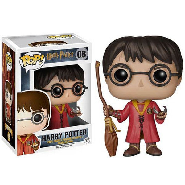 HARRY POTTER QUIDDITCH LIMITED EDITION FUNKO POP! VINYL FIGURE #08