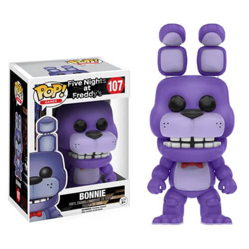FIVE NIGHTS AT FREDDY'S BONNIE FUNKO POP! VINYL FIGURE #107