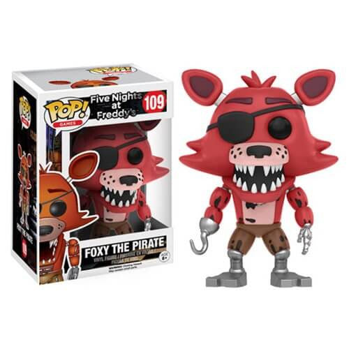 FIVE NIGHTS AT FREDDY'S FOXY THE PIRATE FUNKO POP! VINYL FIGURE #109
