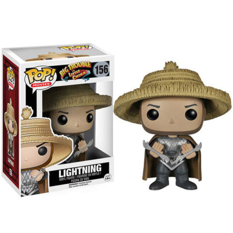 BIG TROUBLE IN LITTLE CHINA LIGHTNING FUNKO POP! VINYL FIGURE #156