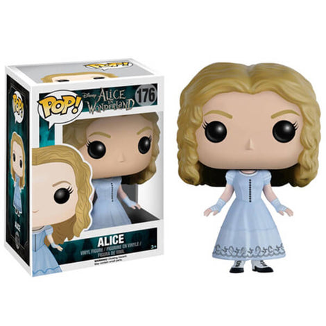 DISNEY ALICE IN WONDERLAND ALICE FUNKO POP! VINYL FIGURE #176