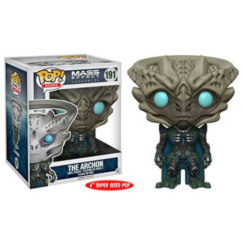MASS EFFECT: ANDROMEDA ARCHON SUPER SIZED 6-INCH FUNKO POP! VINYL FIGURE #191