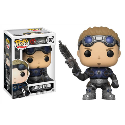 GEARS OF WAR DAMON BAIRD (ARMORED) FUNKO POP! VINYL FIGURE #197