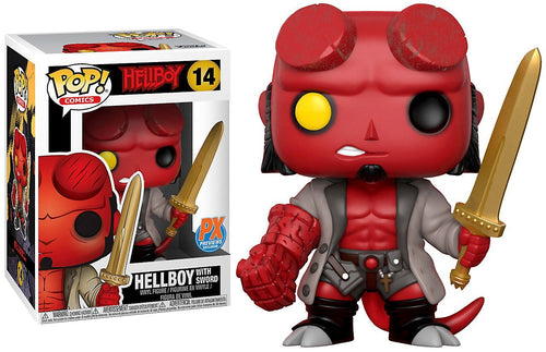 Funko Pop Hellboy with Excalibur Vinyl Figure #14