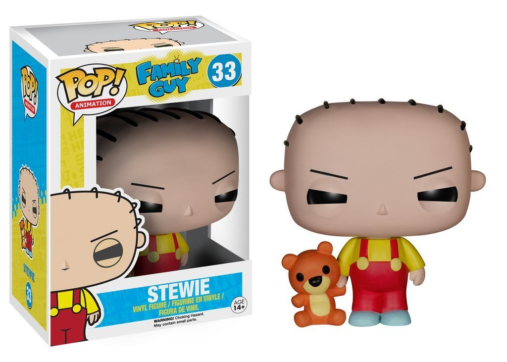 FAMILY GUY STEWIE GRIFFIN FUNKO POP! VINYL FIGURE #33