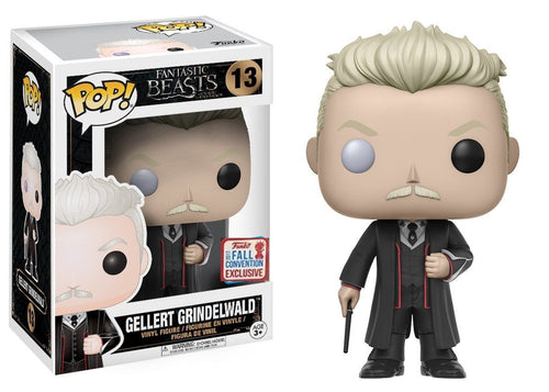 NYCC Exclusive Gellert Grindelwald - Fantastic Beasts and Where to Find Them Funko Pop #13