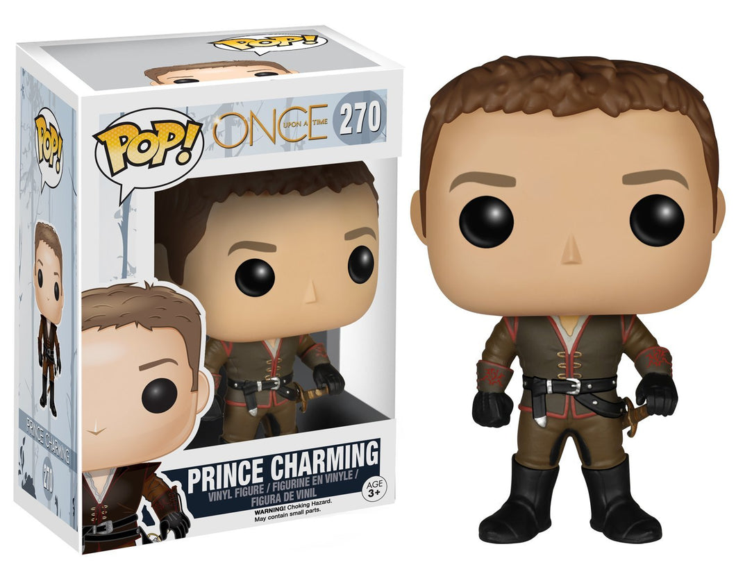 ONCE UPON A TIME PRINCE CHARMING FUNKO POP! VINYL FIGURE #270