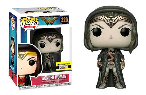 Wonder Woman Movie Cloak Sepia Pop! Vinyl Figure #229 Exclusive Funko Pop