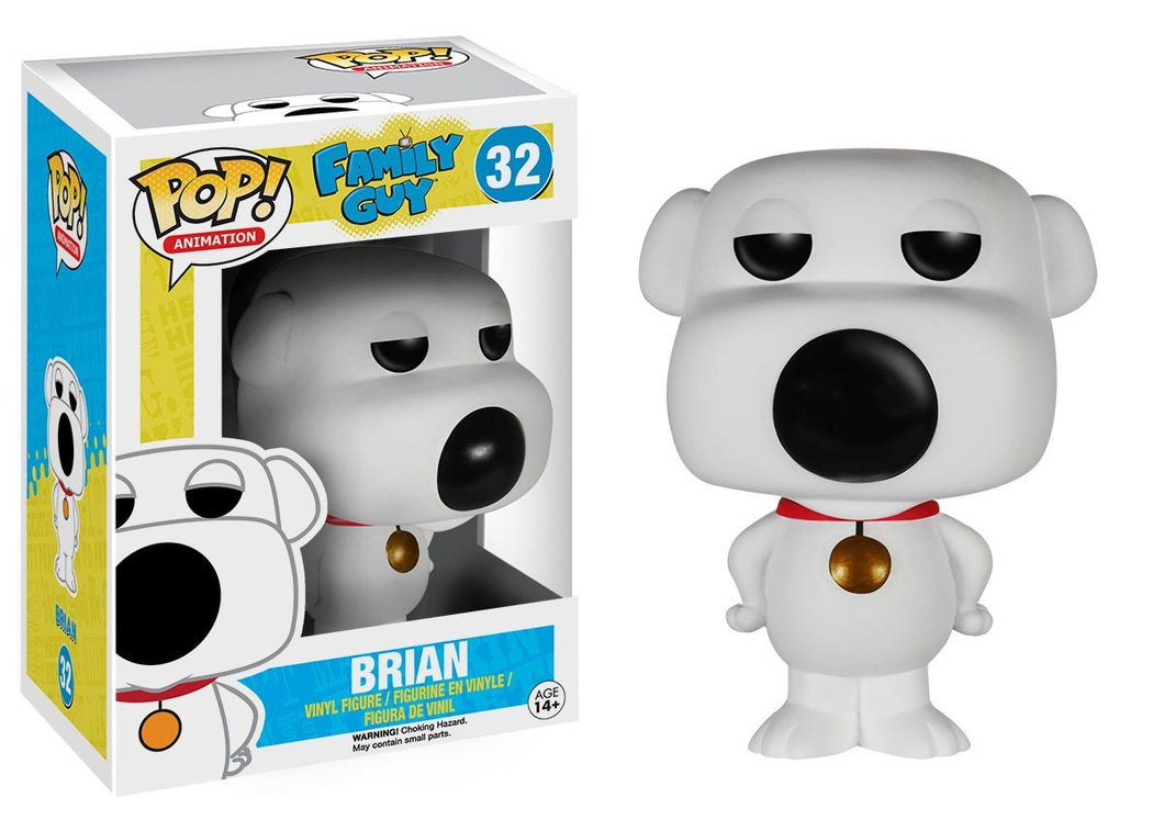 FAMILY GUY BRIAN GRIFFIN FUNKO POP! VINYL FIGURE #32