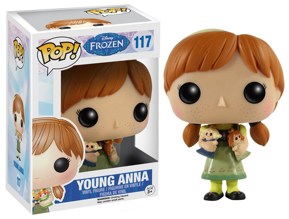 Disney: Frozen - Young Anna Funko Pop Figure #117