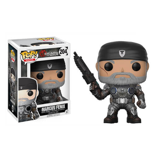 GEARS OF WAR MARCUS FENIX (OLD MAN) FUNKO POP! VINYL FIGURE #204