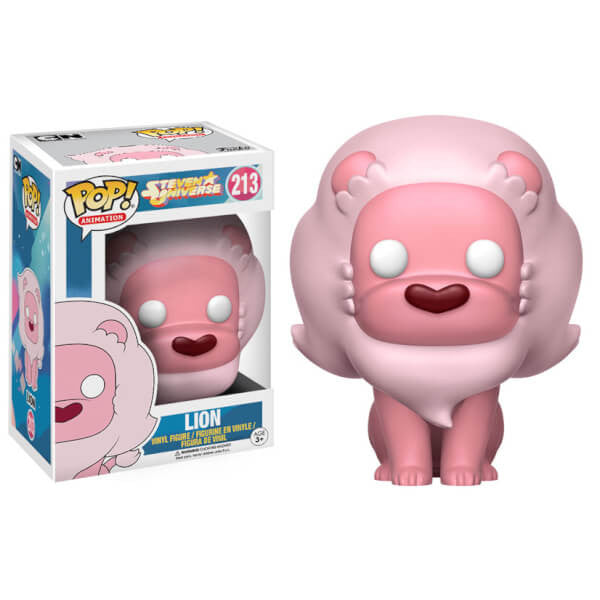 STEVEN UNIVERSE LION FUNKO POP! VINYL FIGURE #213 [Box Damaged]