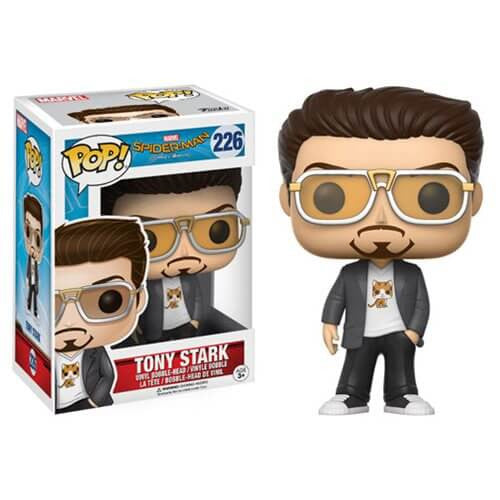 SPIDER-MAN HOMECOMING (2017) TONY STARK FUNKO POP! VINYL FIGURE #226