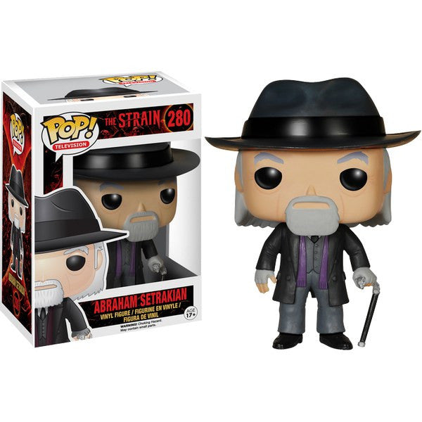 THE STRAIN ABRAHAM SETRAKIAN FUNKO POP! VINYL FIGURE #280
