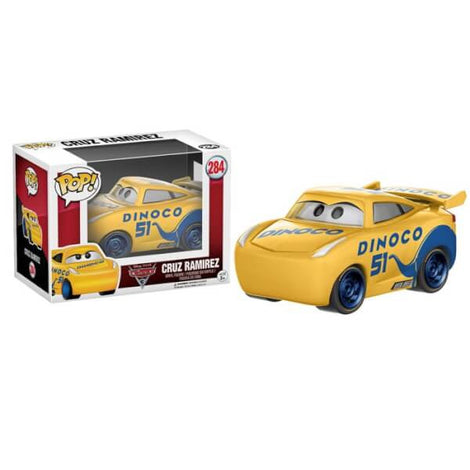 DISNEY CARS 3 CRUZ FUNKO POP! VINYL FIGURE #284