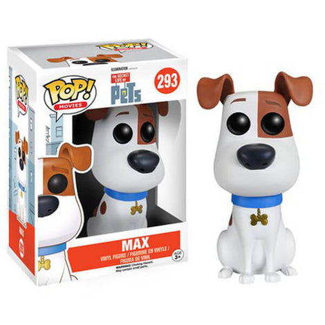 THE SECRET LIFE OF PETS MAX FUNKO POP! VINYL FIGURE #293
