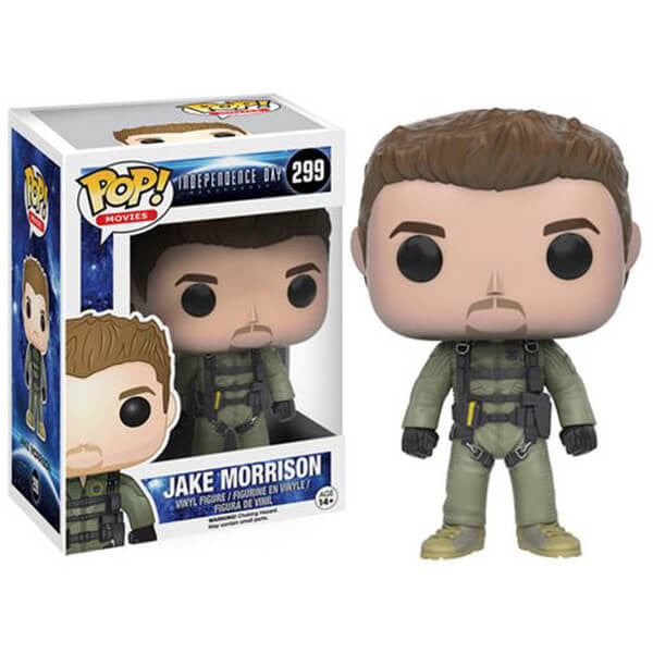 INDEPENDENCE DAY: RESURGENCE JAKE MORRISON FUNKO POP! VINYL FIGURE #299