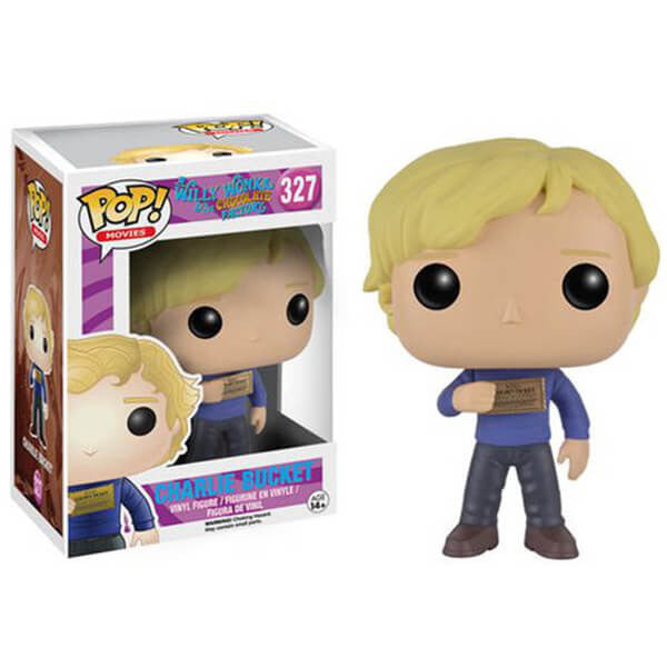 WILLY WONKA AND THE CHOCOLATE FACTORY CHARLIE BUCKET FUNKO POP! VINYL FIGURE #327