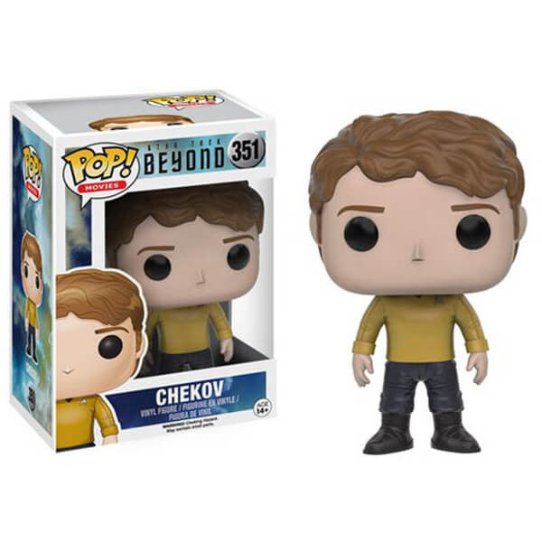 STAR TREK BEYOND CHEKOV FUNKO POP! VINYL FIGURE #351