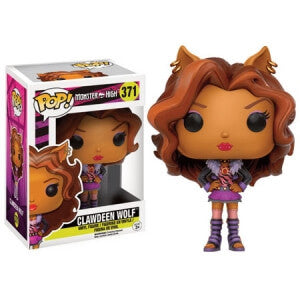 MONSTER HIGH CLAWDEEN WOLF FUNKO POP! VINYL FIGURE #371