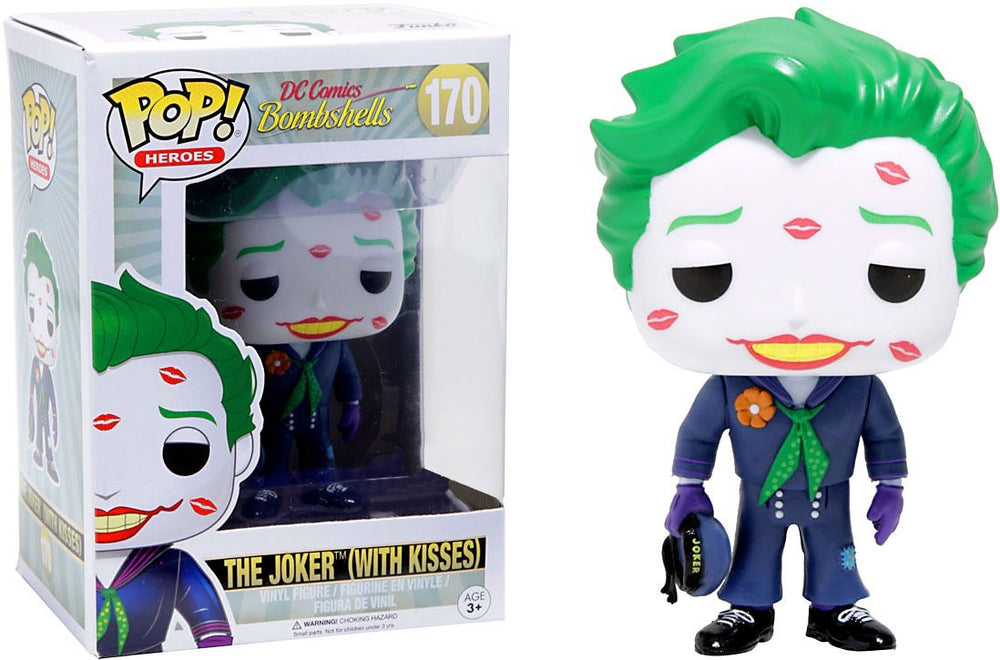 Funko Pop! Dc Heroes Dc Comics Bombshells The Joker #170 (With Kisses)