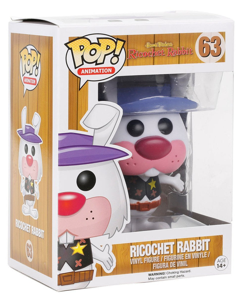 HANNA-BARBERA RICOCHET RABBIT FUNKO POP! VINYL FIGURE #63