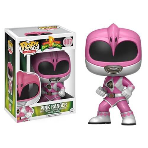 POWER RANGERS FUNKO POP! VINYL FIGURE PINK RANGER #407