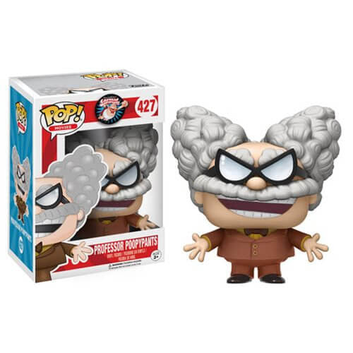 CAPTAIN UNDERPANTS PROFESSOR POOPY PANTS FUNKO POP! VINYL FIGURE #427