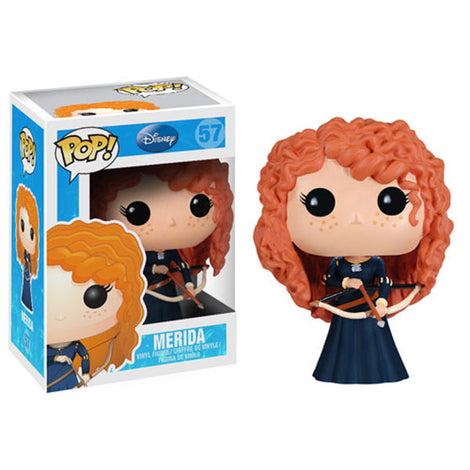 DISNEY MERIDA (FROM BRAVE) FUNKO POP! VINYL FIGURE #57