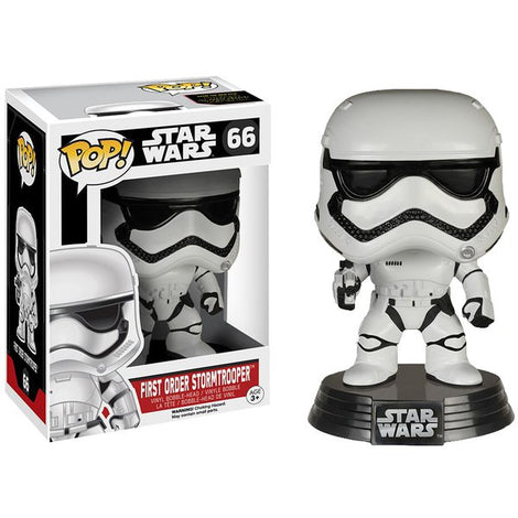 STAR WARS: THE FORCE AWAKENS FIRST ORDER STORMTROOPER FUNKO POP! VINYL FIGURE #66
