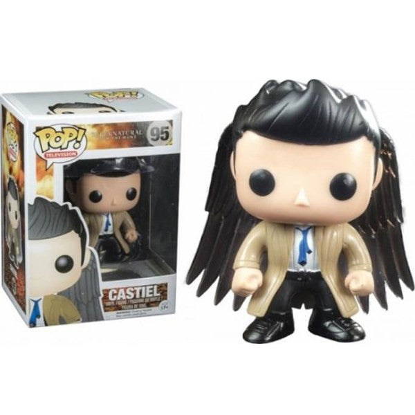 SUPERNATURAL CASTIEL WITH WINGS LIMITED EDITION FUNKO POP! VINYL FIGURE #95