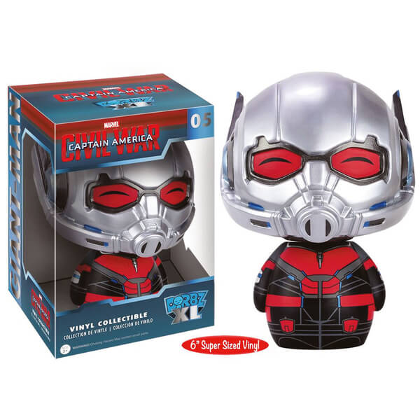 MARVEL CAPTAIN AMERICA CIVIL WAR ANT-MAN 6 INCH FUNKO DORBZ ACTION FIGURE