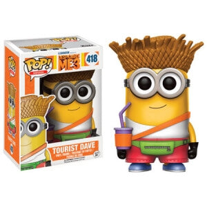 DESPICABLE ME 3 DAVE TOURIST FUNKO POP! VINYL FIGURE #418