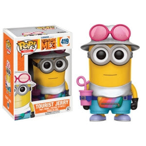 DESPICABLE ME 3 JERRY TOURIST FUNKO POP! VINYL FIGURE #419