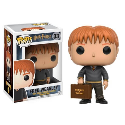 HARRY POTTER FRED WEASLEY FUNKO POP! VINYL FIGURE #33