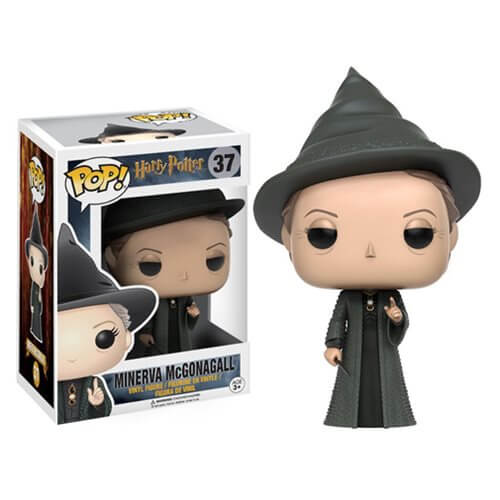 HARRY POTTER MINERVA MCGONAGALL FUNKO POP! VINYL FIGURE #37