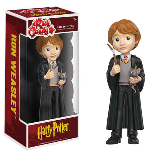 HARRY POTTER RON WEASLEY FUNKO ROCK CANDY VINYL FIGURE