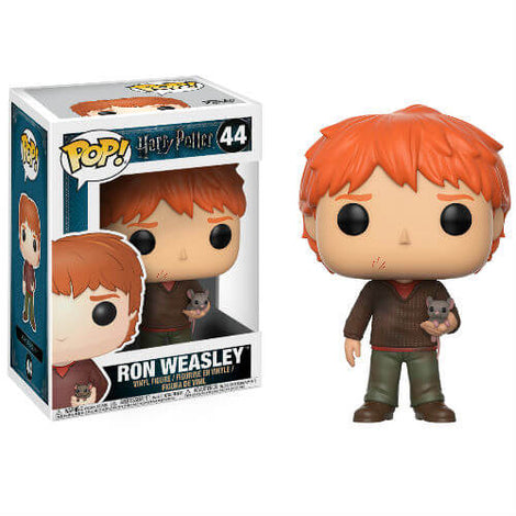 HARRY POTTER RON WEASLEY WITH SCABBERS FUNKO POP! VINYL FIGURE #44