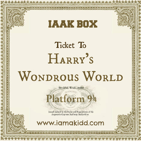 "IAAK ""Ticket To Harry's Wondrous World"" Subscription Box"