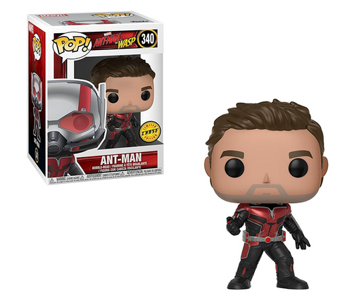 Ant Man & The Wasp: Ant Man 2018 Movie (CHASE Edition) Funko Pop Figure #340